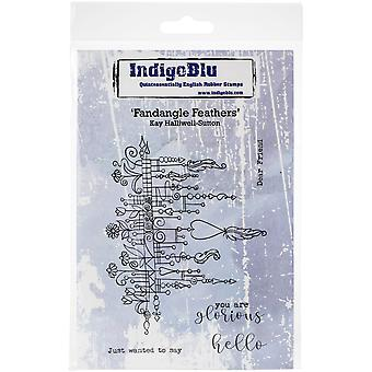 "IndigoBlu Cling Mounted Stamp 5""X4""-Fandagle"