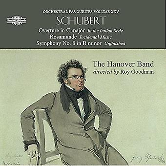 Schubert / Hanover Band - Orchestral Favourites [CD] USA import