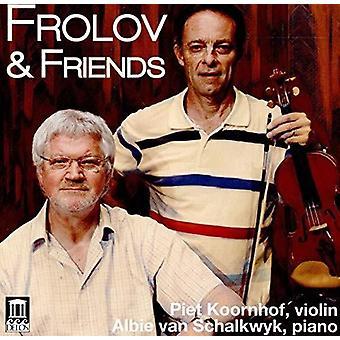 Prats / Schalkwyk - Frolov & Friends [CD] USA import