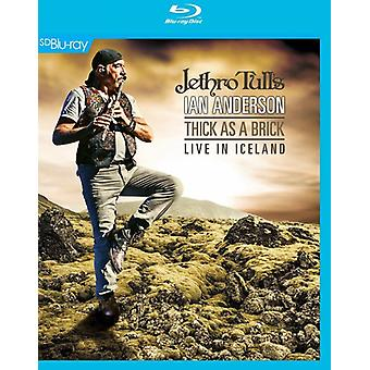Jethro Tull's Ian Anderson - Thick as a Brick Live in Iceland [BLU-RAY] USA import