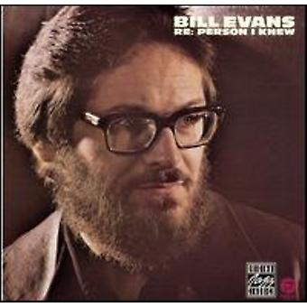 Bill Evans - Re-Person I Knew [CD] USA import