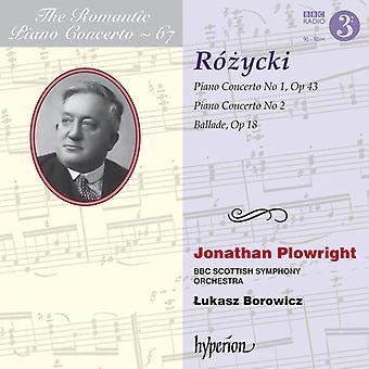 Rozycki, L. / Borowicz, Lukasz - Romantic Piano [CD] USA import