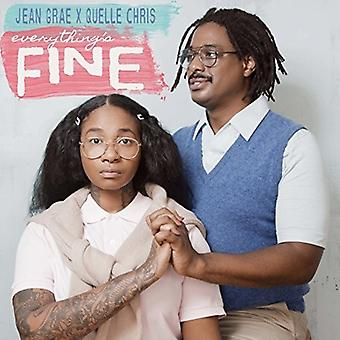 Grae, Jean / Quelle Chris - Everything's Fine [CD] USA import