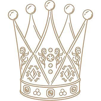 Spellbinders Crowned Royalty Hot Foil Plate