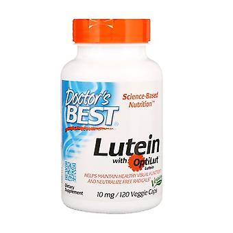 Lutein with OptiLut, 10mg 120 vegetable capsules