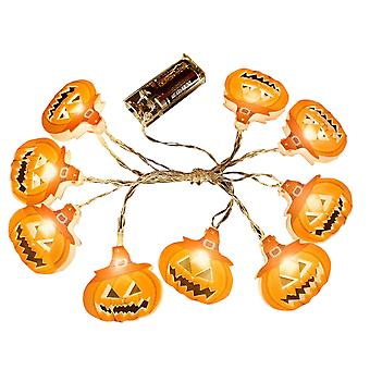 Halloween pumpkin lantern battery powered, outdoor indoor party holiday wedding decoration, LED string lights