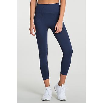 Jerf Womens Gela Navy Blue Seamless Active leggings