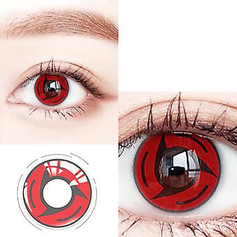 Colored Contact Lenses Color Hallowen Lens For Eyes Uchiha Eye Cosplay Naruto Sharingan Series