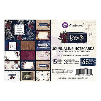 Prima Marketing Darcelle 6x6 Inch Journaling Cards