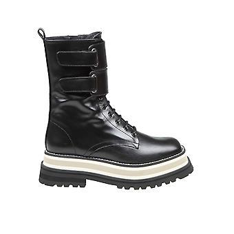 Paloma Barceló Juliacablack Women's Black Leather Ankle Boots