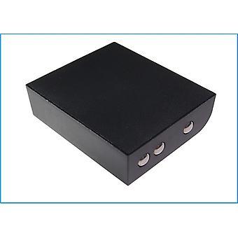 Battery for Panasonic 2020BAT PA04940398 WX-C2020BAT Ultraplex II WX-CT2020
