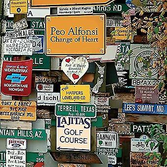 Peo Alfonsi - Change of Heart [CD] USA import