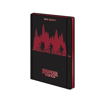 Stranger Things Logo 2021 Diary
