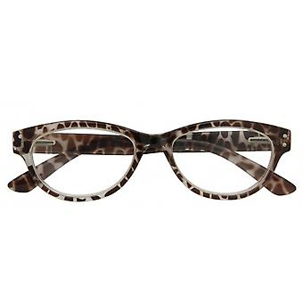 Reading Glasses Women's Classic Brown Strength +3.00