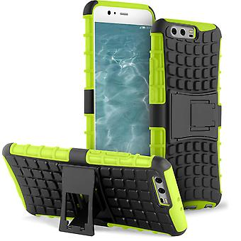 Hard Cover In For for Huawei P10 Plus Shockproof Hard-Plastic Hybrid Outdoor Green