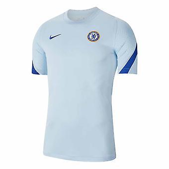 2020-2021 Chelsea Nike Training Shirt (Vaaleansininen)