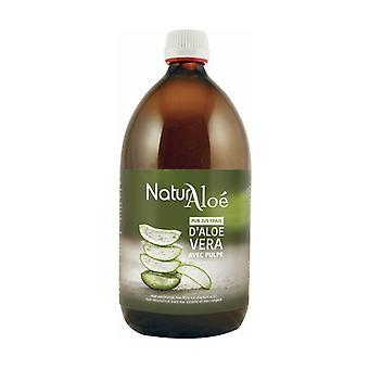 Organic aloe vera pulp 1 L