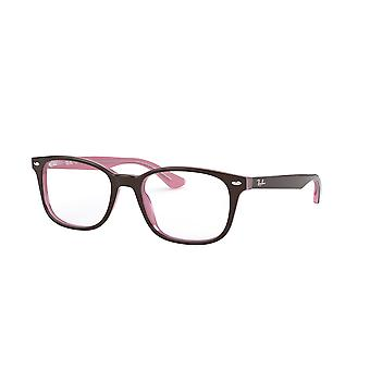 Ray-Ban RB5375 2126 Top Brown On Opal Pink Glasses