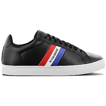 Le Coq Sportif Courtflag - Men's Shoes Black 1911451 Sneakers Sports Shoes
