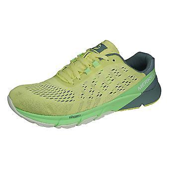 Merrell Bare Access Flex 2 E-Mesh Womens Trail Running Trainers - Lime