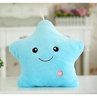 40cm Luminous Star Shape, Cotton Glowing-led Pillow