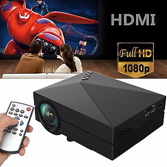 Portable Full Hd 1080p Lcd Mini Projector - Lumens Home Theater