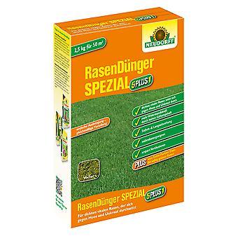 NUEVODORFF césped fertilizante especial 5PLUS1, 2.5 kg