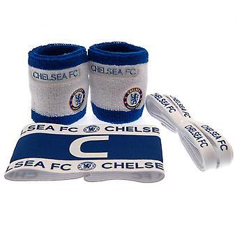 Zestaw pałąków kapitanów Chelsea FC (pakiet 4)