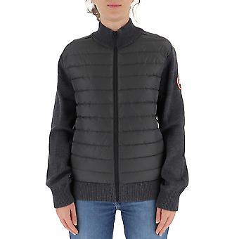 Canada Goose 6830m699 Men's Grey Wool Outerwear Jacket