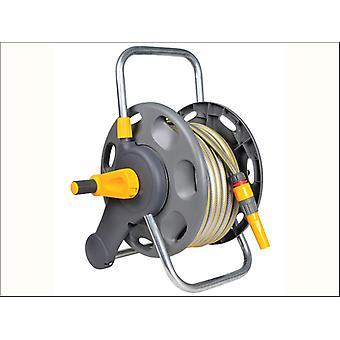 Hozelock 2in1 Assorted Reel + 25m Hose & Sprinkler 2431