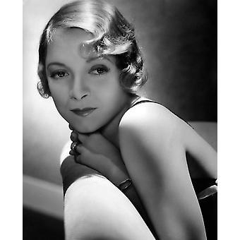Helen Hayes 1934 valokuvatulostus