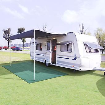 Tent carpet 300 x 600 cm green