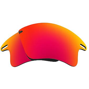Replacement Lenses for Oakley Fast Jacket XL Sunglasses Anti-Scratch Red Mirror
