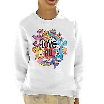 Care Bears Odblokować Magic Love All Kid's Bluza