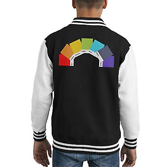 Swatch The Rainbow Kid's Varsity Jacket
