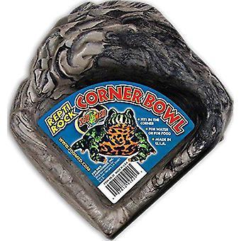 Zoo Med Repti Rock Corner Bowl P (Reptiles , Bowls, Feeders & Water Dispensers)