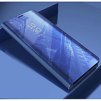 Stuff Certified® Huawei Y9 2019 Smart Mirror Flip Case Cover Case Purple