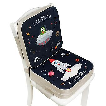 Enfants Increased Chair Pad Réglable Amovible Highchair Chair Booster
