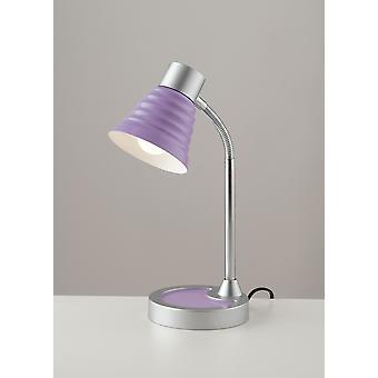 Europe Leonardo - Aktivitetsbordslampa, Viola, Krom, E14