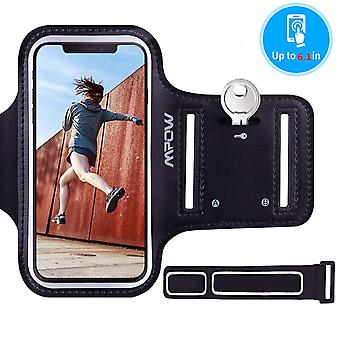 """Mpow running armband for iphone xs xr x 8 7 6s 6 se 2, galaxy s10/s9/s8/a41 up to 6.1"""", comfortable"""