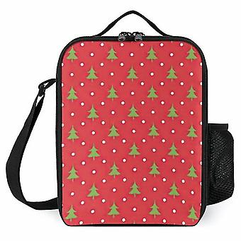 Christmas Pattern- Xmas Tree Printed Lunch Bags