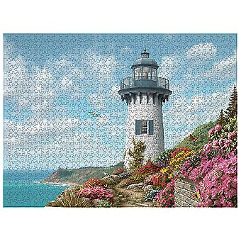 Homemiyn 1000-piece Plane Puzzle 804 Harbor Lighthouse