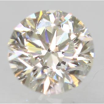 معتمد 0.55 قيراط G VVS1 جولة رائعة المحسنة الطبيعية فضفاضة الماس 5.1mm