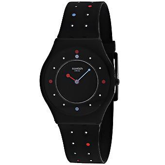 Swatch Women's Paleo Black Dial Watch - SFB146