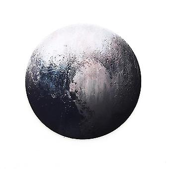 Round Mouse Pad Planet Series Mat, Computer Game Pad Non-slip
