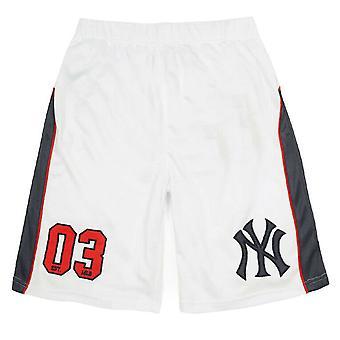 Majestic Mens Pickering Poly Mesh New York Yankees Shorts A5NYY6400 001