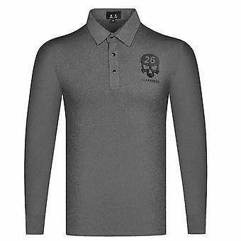 Mężczyźni Nowe wiosenne jesienne koszulki golfowe - Outdoor Sports Long Sleeves Odzież