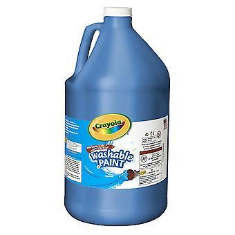 Pintura lavable, azul, galón