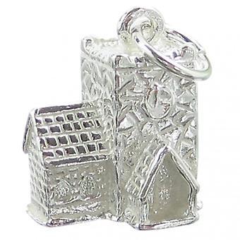 Kirke Sterling Sølv Charm 0,925 X 1 Holy Village Kirker Charms