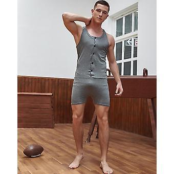 Slimming Corset Body Shapewear, Cotton Shirt Bodysuit Mens Underwear
